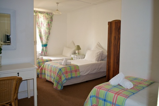 Triple Room, District Six Guesthouse